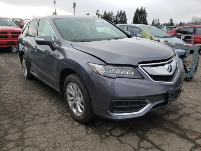 Salvage cars for sale from Copart Woodburn, OR: 2017 Acura RDX Techno