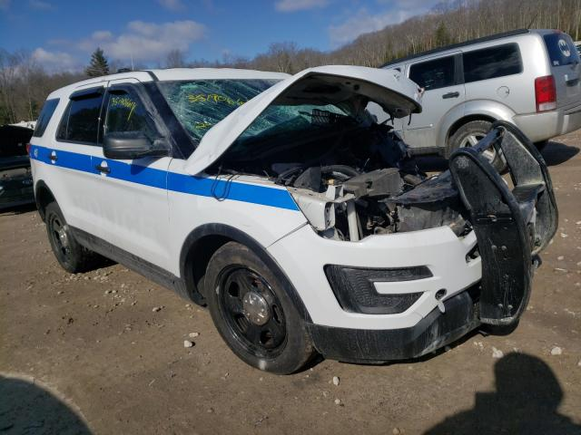 Salvage cars for sale from Copart West Warren, MA: 2018 Ford Explorer P