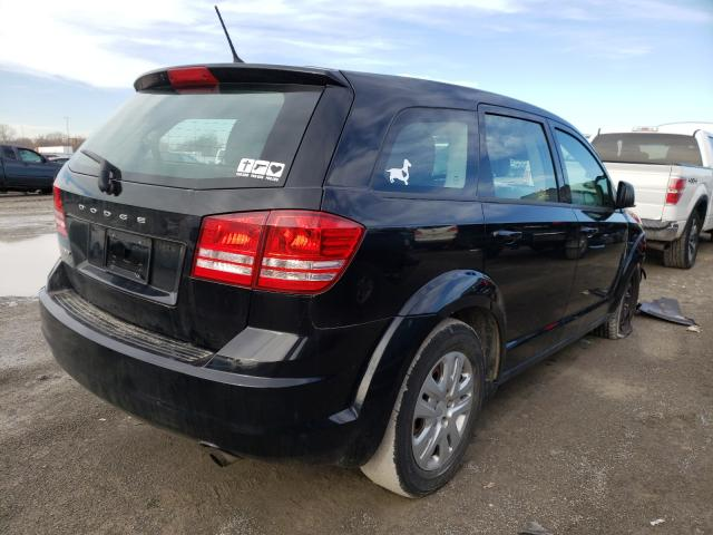 2014 DODGE JOURNEY SE - Right Rear View