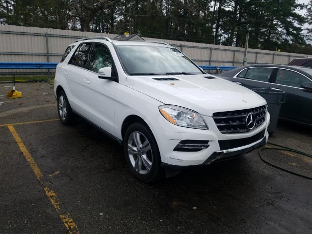Mercedes-Benz salvage cars for sale: 2015 Mercedes-Benz ML 350