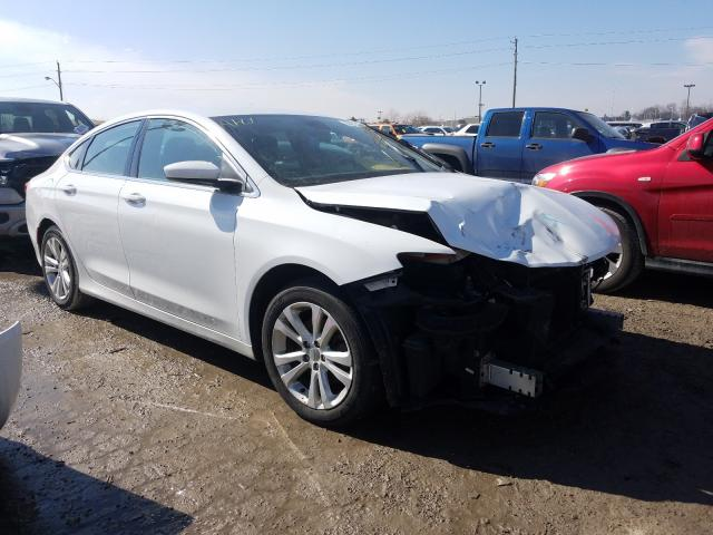 Salvage cars for sale from Copart Indianapolis, IN: 2015 Chrysler 200 Limited