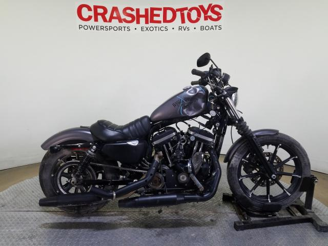 Salvage cars for sale from Copart Dallas, TX: 2009 Harley-Davidson XL883 Iron