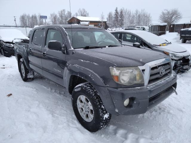 Salvage cars for sale from Copart Anchorage, AK: 2010 Toyota Tacoma DOU