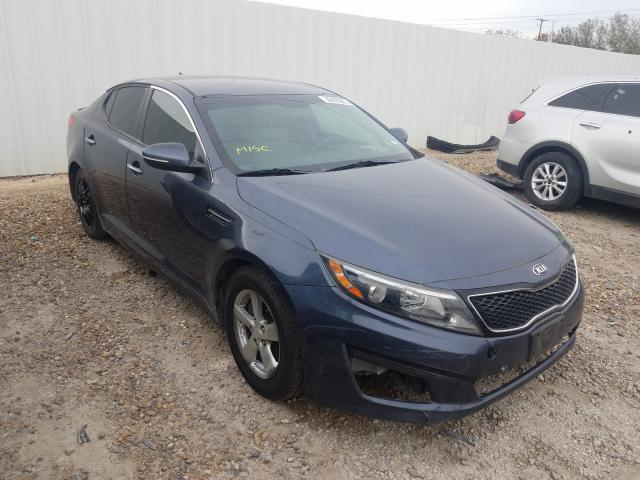 Salvage cars for sale from Copart Mercedes, TX: 2015 KIA Optima LX