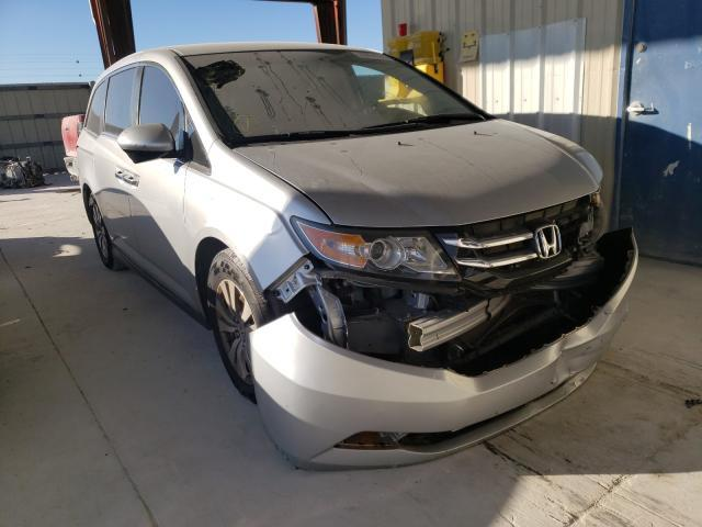 Salvage cars for sale from Copart Homestead, FL: 2015 Honda Odyssey EX