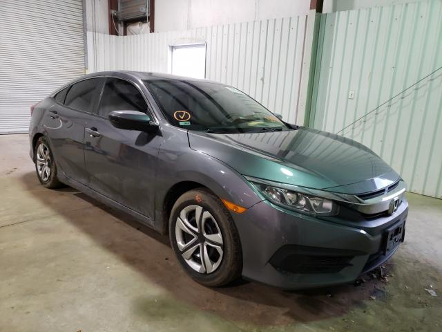 Salvage cars for sale from Copart Lufkin, TX: 2017 Honda Civic LX