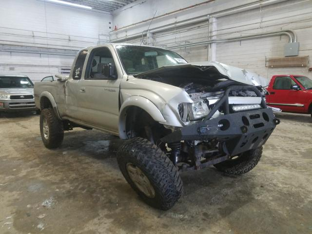 Salvage cars for sale from Copart Fredericksburg, VA: 2004 Toyota Tacoma XTR