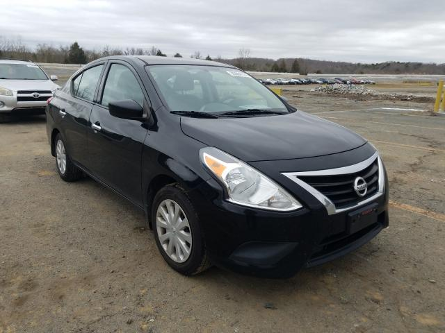 Salvage cars for sale from Copart Concord, NC: 2017 Nissan Versa S
