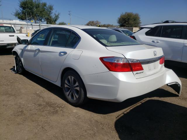 2013 HONDA ACCORD LX - Right Front View