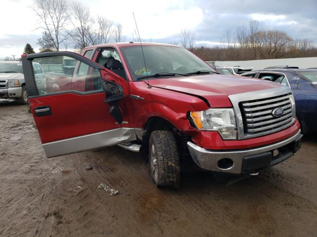 Salvage cars for sale from Copart Columbia Station, OH: 2012 Ford F150 Super