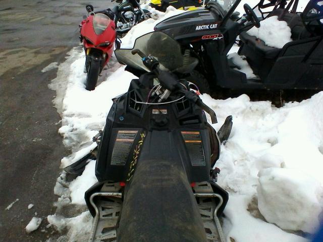 2010 POLARIS SNOWMOBILE - Left Rear View