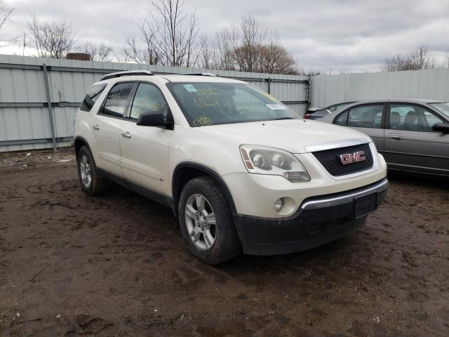 Salvage cars for sale from Copart Columbia Station, OH: 2009 GMC Acadia SLE