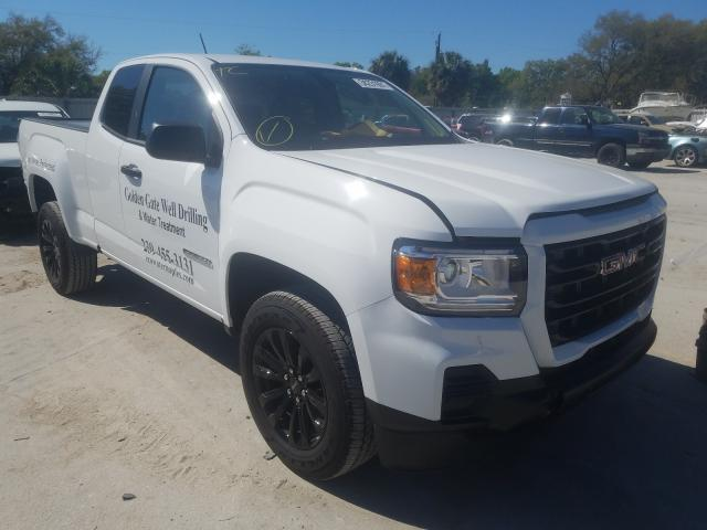 GMC Vehiculos salvage en venta: 2021 GMC Canyon ELE