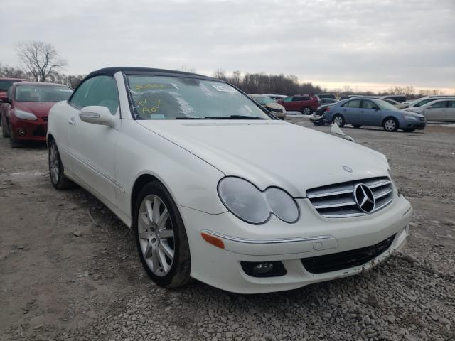 Mercedes-Benz salvage cars for sale: 2007 Mercedes-Benz CLK 350