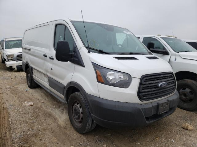 Salvage cars for sale from Copart San Antonio, TX: 2018 Ford Transit T