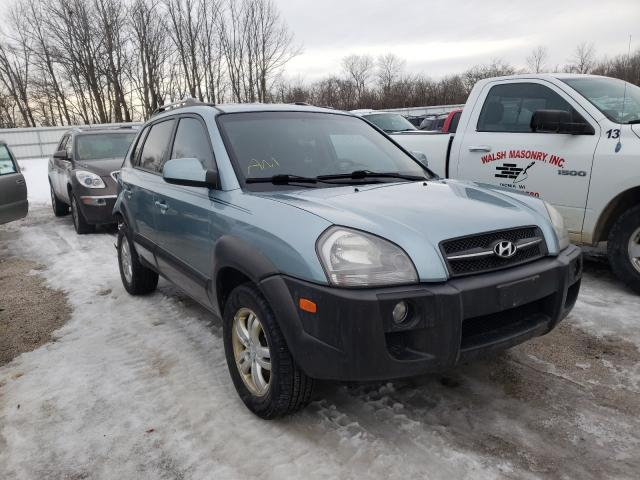 Salvage cars for sale from Copart Milwaukee, WI: 2008 Hyundai Tucson SE
