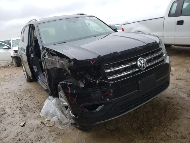 Salvage cars for sale from Copart Temple, TX: 2019 Volkswagen Atlas SE