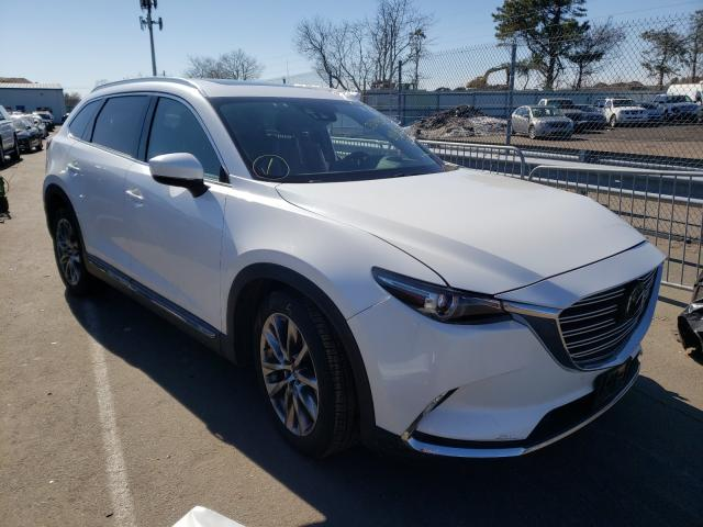 Salvage cars for sale from Copart Brookhaven, NY: 2016 Mazda CX-9 Signa