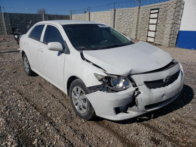 Salvage cars for sale from Copart Farr West, UT: 2009 Toyota Corolla BA