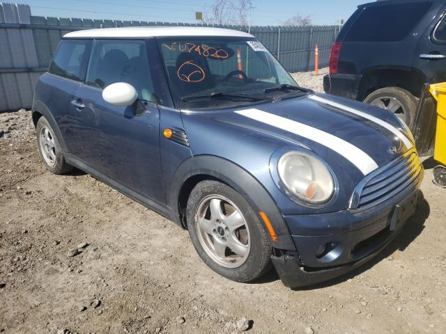 Salvage cars for sale from Copart Kansas City, KS: 2009 Mini Cooper