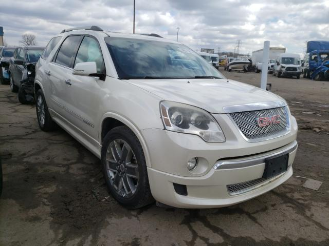 Salvage cars for sale from Copart Woodhaven, MI: 2011 GMC Acadia