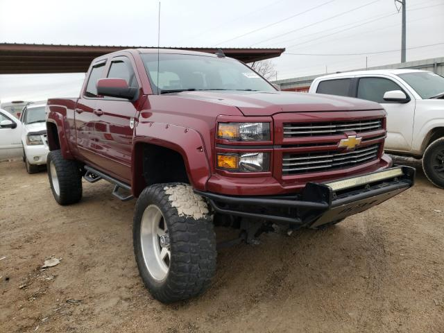 Salvage cars for sale from Copart Temple, TX: 2015 Chevrolet Silverado