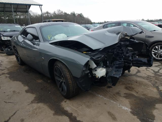 Salvage cars for sale from Copart Austell, GA: 2017 Dodge Challenger