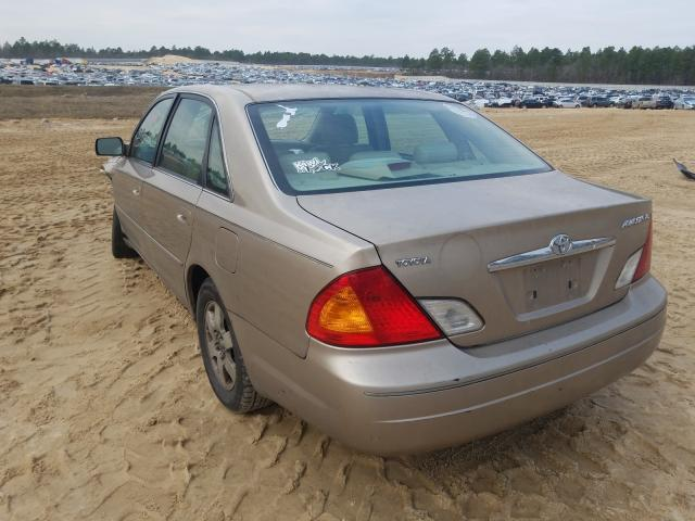 2001 TOYOTA AVALON XL - Right Front View