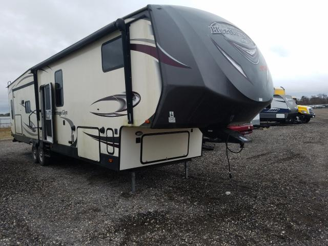 Salvage cars for sale from Copart Houston, TX: 2017 Wildcat 5th Wheel