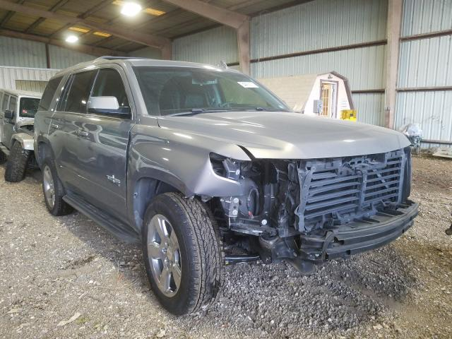 Salvage cars for sale from Copart Houston, TX: 2017 Chevrolet Tahoe C150