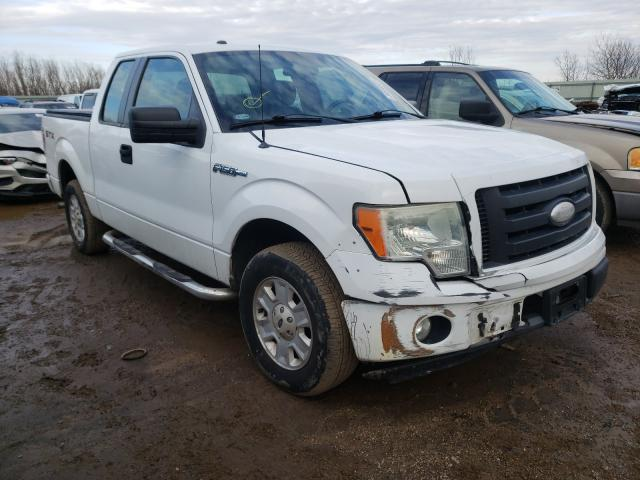 Salvage cars for sale from Copart Pekin, IL: 2009 Ford F150 Super