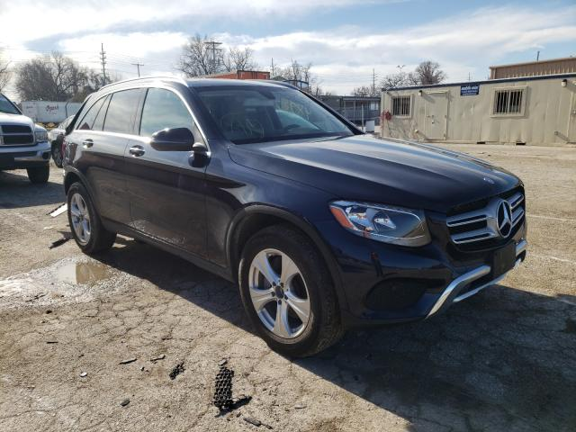 Salvage cars for sale from Copart Bridgeton, MO: 2017 Mercedes-Benz GLC 300 4M