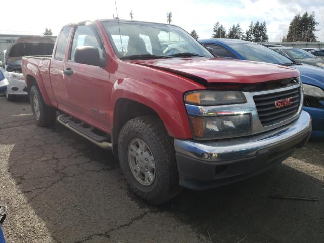 Salvage cars for sale from Copart Woodburn, OR: 2005 GMC Canyon