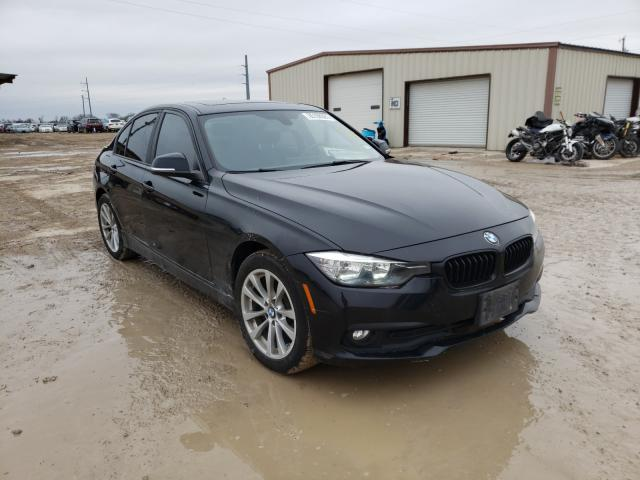 Salvage cars for sale from Copart Temple, TX: 2016 BMW 320 I