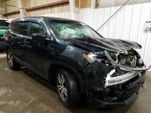 Salvage cars for sale from Copart Anchorage, AK: 2016 Honda Pilot EXL