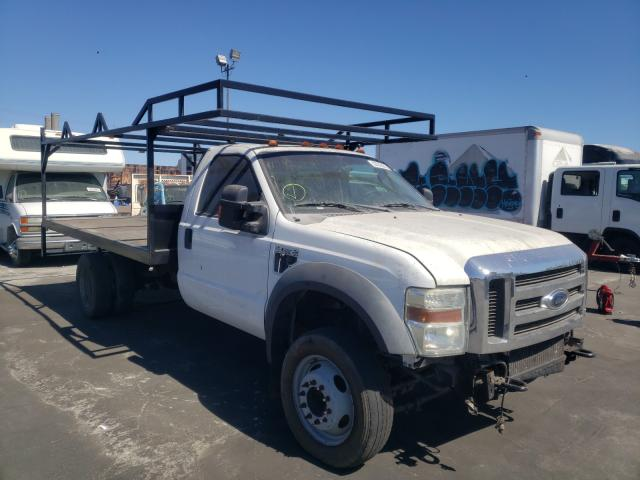 Salvage cars for sale from Copart Wilmington, CA: 2008 Ford F550 Super