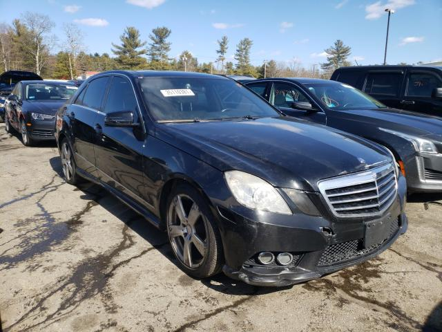 Salvage cars for sale from Copart Exeter, RI: 2010 Mercedes-Benz E 350 4matic