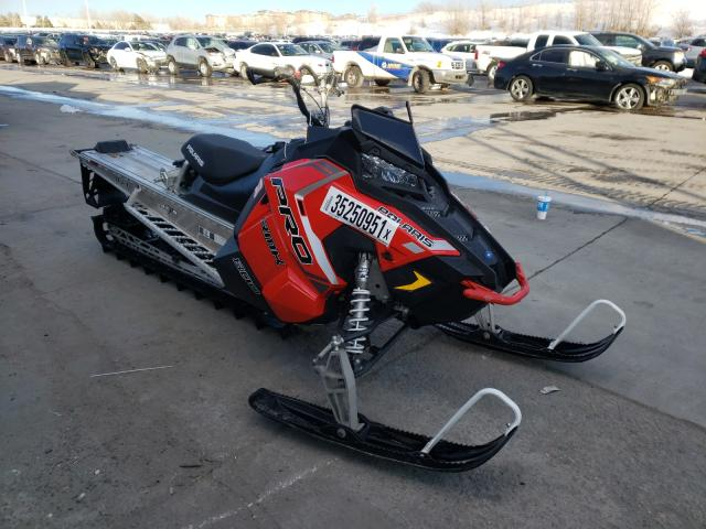 Salvage cars for sale from Copart Littleton, CO: 2018 Polaris Snowmobile