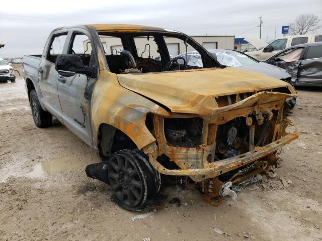 Salvage cars for sale from Copart Temple, TX: 2021 Toyota Tundra CRE