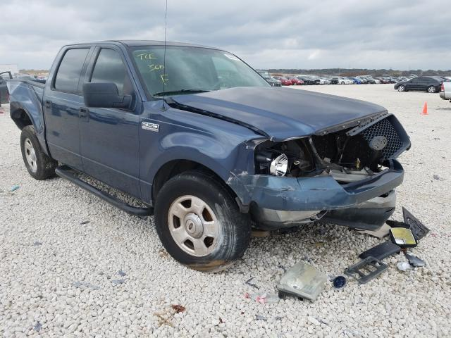 Salvage cars for sale from Copart New Braunfels, TX: 2004 Ford F150 Super