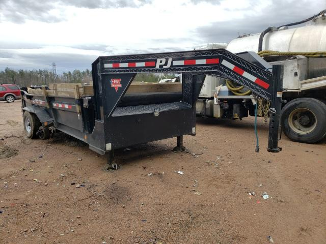 Dump salvage cars for sale: 2019 Dump Trailer