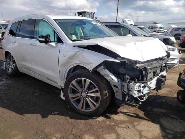 Salvage cars for sale from Copart Woodhaven, MI: 2021 Cadillac XT6 Premium