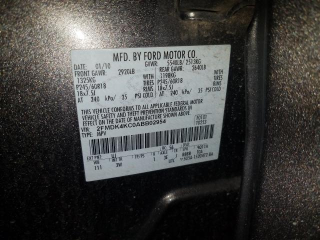 2010 FORD EDGE LIMIT - Other View