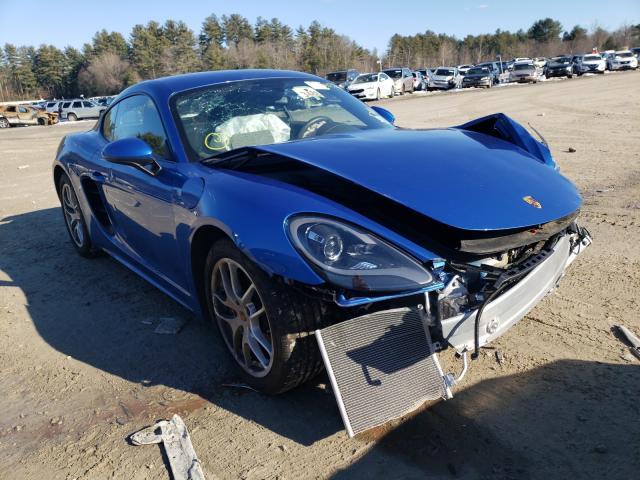 Porsche Cayman salvage cars for sale: 2018 Porsche Cayman