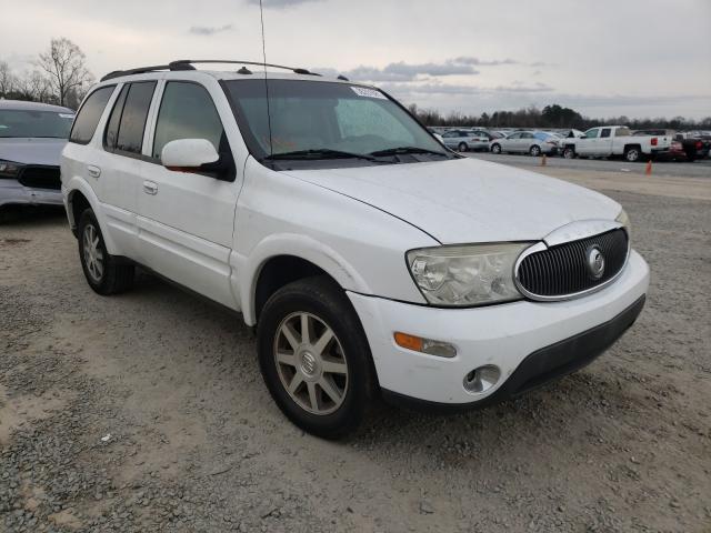 Salvage cars for sale at Lumberton, NC auction: 2004 Buick Rainier CX