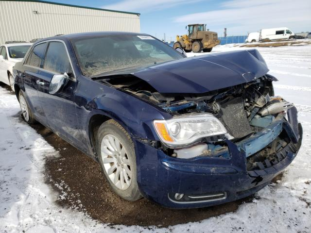 Salvage cars for sale from Copart Rocky View County, AB: 2014 Chrysler 300