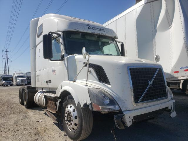Salvage cars for sale from Copart Rancho Cucamonga, CA: 2012 Volvo VN VNL