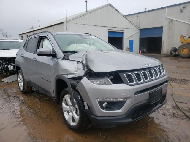 Salvage cars for sale from Copart Hillsborough, NJ: 2019 Jeep Compass LA