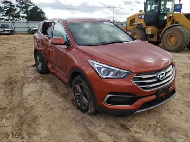 Salvage cars for sale from Copart Newton, AL: 2017 Hyundai Santa FE S