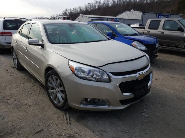 Salvage cars for sale from Copart Hurricane, WV: 2015 Chevrolet Malibu 2LT